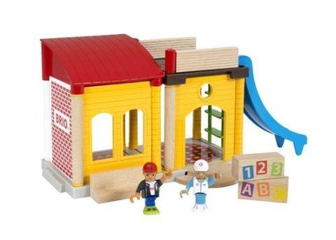 BRIO 33943 Набор к деревянной железной дороге