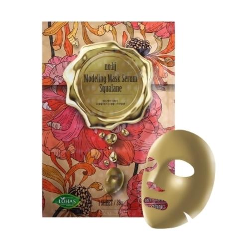 Фольгированная тканевая маска со скваланом, 28 г / NO:HJ Modeling Mask Serum Squalane