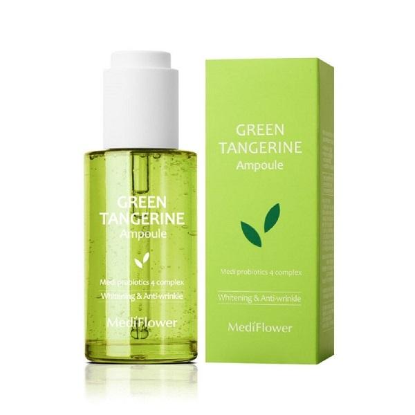 Сыворотка для лица тонизирующая с зеленым мандарином Medi Flower Green Tangerine Ampoule 100мл