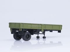 Semitrailer ODAZ-885 green 1:43 AutoHistory