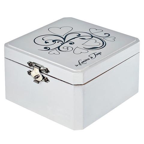 Комплект в деревянной коробке: 1 свеча 35 гр. +
