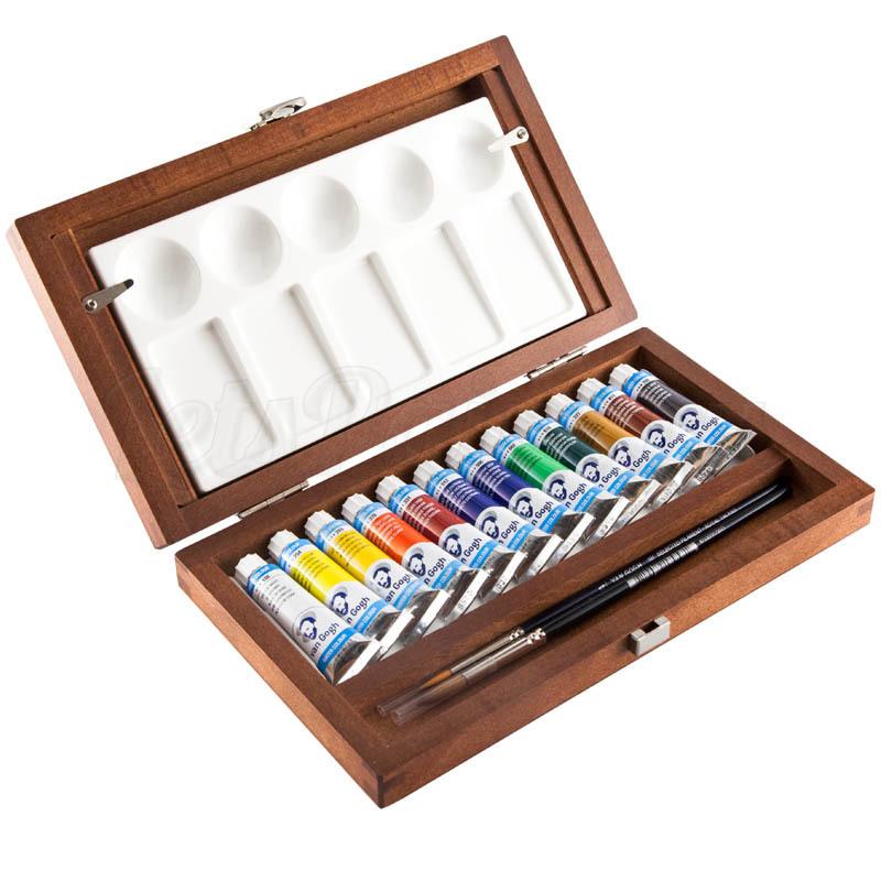 Набор акварельных красок Van Gogh - 12 цветов в тубах по 10мл