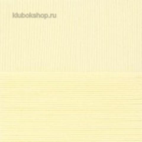 Пряжа Ласковое детство 64 Светлый лимон Пехорка - купить в интернет-магазине Клубок Шоп