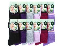 B5059 носки женские 36-41, (12шт) цветные