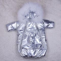 Демисезонный детский мешок - комбинезон Космонавт exclusive