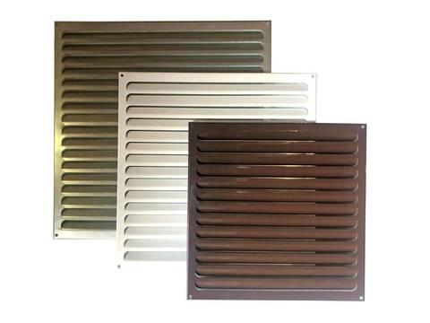 Решетка металлическая белая 450х450мм 4545РМ