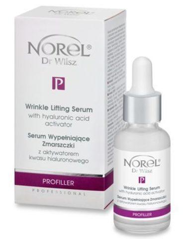 *Сыворотка для безиньекционного заполнения морщин с гиалур-ой кислотой (NOREL/PROFILLER/30мл/PA 372)
