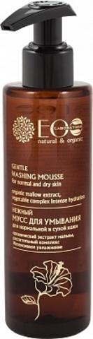 EO Laboratorie Нежный мусс Деликатное очищение для нормальной и сухой кожи 200 мл