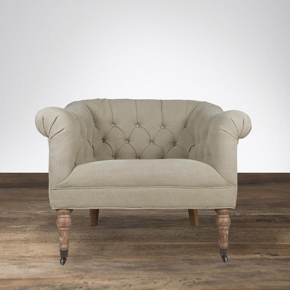 Кресло Roomers бежевое CC1223