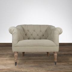 Кресло Eichholtz бежевое CC1223