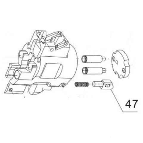 Упор для монтажного пистолета ПЦ-84, GFT-5 (47)