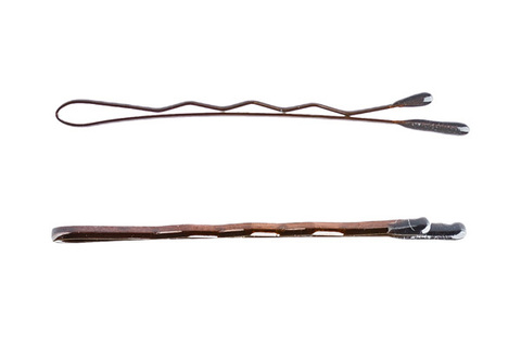 Невидимки Y.S.Park 41 мм коричневые 45 шт