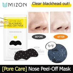 LET ME OUT BLACKHEAD PEEL-OFF MASK MIZON