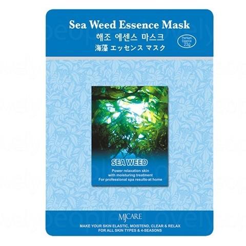 MIJIN Маска тканевая морские водоросли Sea Weed Essence Mask
