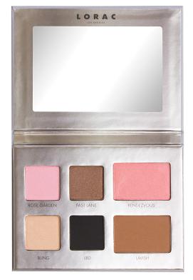 Палетка для макияжа LA EXPERIENCE - EYE & CHEEK PALETTE - BEVERLY HILLS