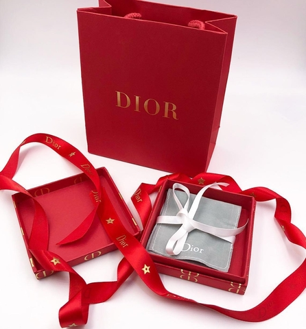 Комплект подарочной упаковки  для украшений DIOR