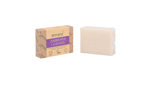 Levrana, Лаванда, натуральное мыло, 100 г