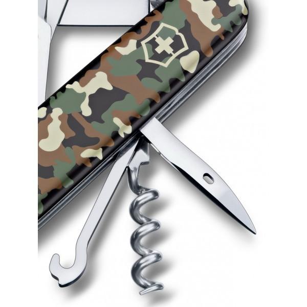 Складной нож Victorinox Climber Camouflage (1.3703.94) 91 мм., 14 функций, камуфляжная расцветка - Wenger-Victorinox.Ru