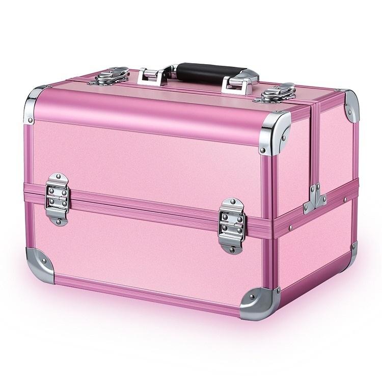 Бьюти кейсы и чемоданы Бьюти кейс для косметики CWB7350 Pink Бьюти_кейс_для_косметики_CWB7350_розовый.jpeg