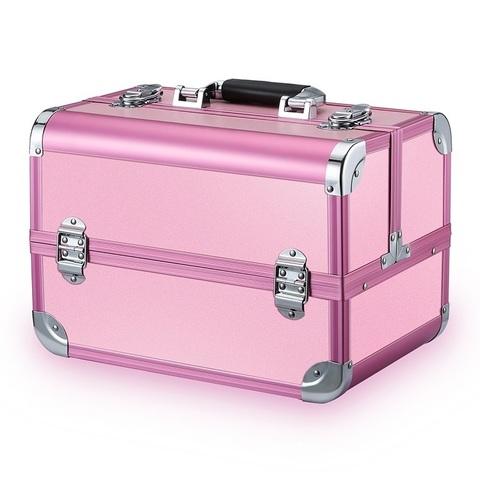 Бьюти кейс для косметики CWB7350 Pink