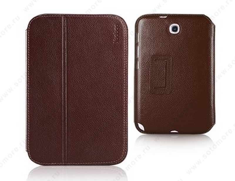 Чехол-книжка Yoobao для Samsung Galaxy Note 8.0 N5100/ N5110 - Yoobao Executive Leather Case Brown