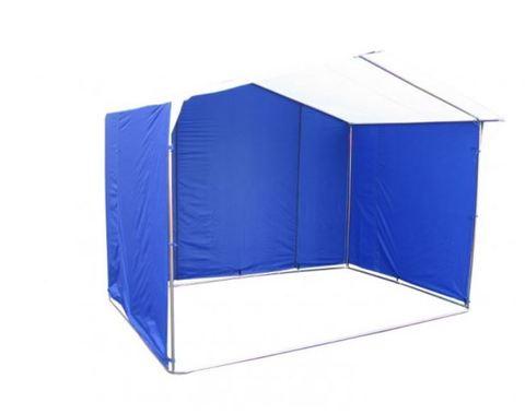 Торговая палатка Митек «Домик» 3 х 2 К из квадратной трубы 20х20 мм, тент ПВХ