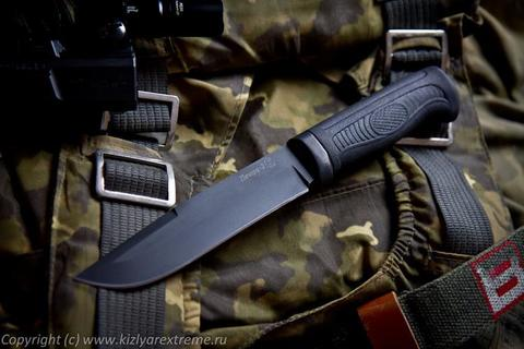 Тактический нож Печора-2 Черный Эластрон