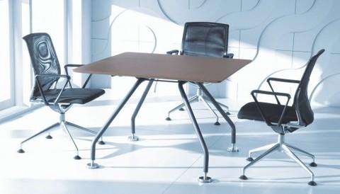 Конференц-стол со шпонированной столешницей (XEON)
