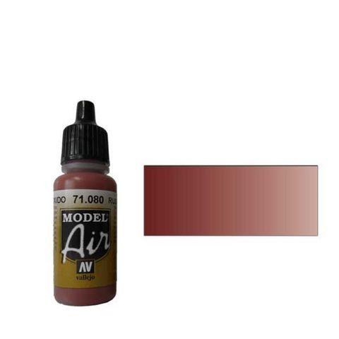 080 Краска Model Air Ржавый (Rust) укрывистый, 17мл
