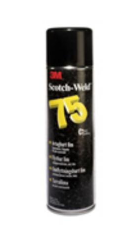 Клей-спрей 3М Scotch-Weld 75, допускающий переклеивание, 500 мл