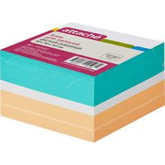 Блок-кубик ATTACHE на склейке 9х9х5 цветной блок
