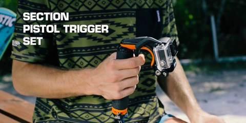 SP Section Pistol Trigger в руке