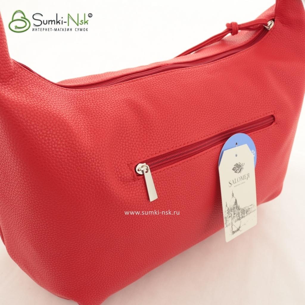 67ebeaf36b06 Женская сумка Саломея 500 бельгийский красный