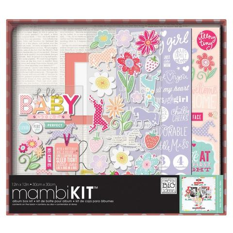 "Альбом  с наполнением Me & My Big Ideas Boxed Album Kit -30х30 см"" -  Sweet Baby Girl"