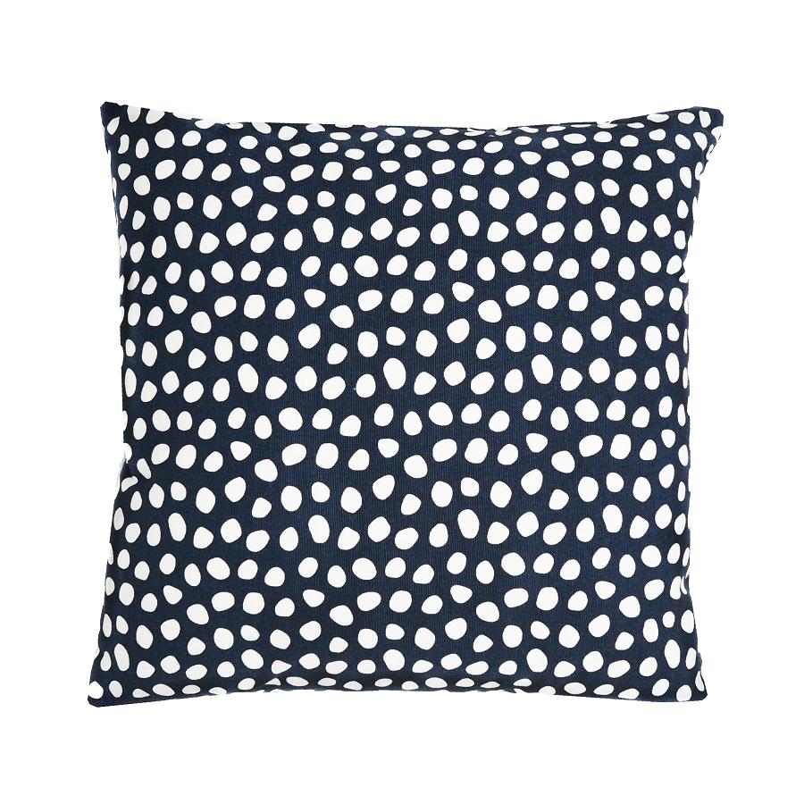 Декоративные наволочки Чехол для подушки из хлопка с принтом Funky dots темно-серый Cuts&Pieces 45х45 Tkano ab19f9cf6b26dba6f84ad11b360d2bbb.jpeg