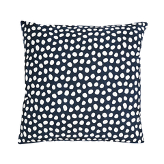 Чехол для подушки из хлопка с принтом Funky dots темно-серый Cuts&Pieces 45х45 Tkano