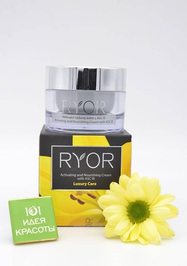 Ryor Активирующий питательный ночной крем с ASC III (45+)