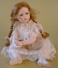 Кукла фарфоровая коллекционная Marigio Violetta