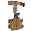 Тактическая пластиковая кобура для пистолета SIG-Sauer WRS Level II Duty Holster w/Tac-light Blade-Tech