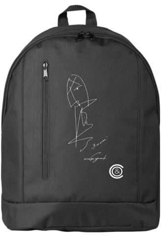 Рюкзак с авторским рисунком Светланы Сургановой
