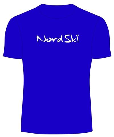 NORDSKI ACTIVE мужская футболка blue