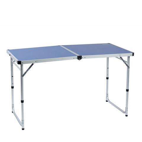 Стол походный Camping World Funny Table (синий, серый, оранжевый)