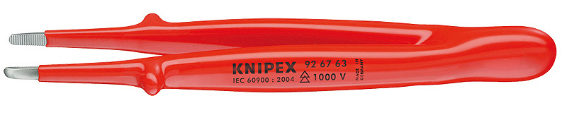 Пинцет прецизионный 1000V Knipex KN-926763