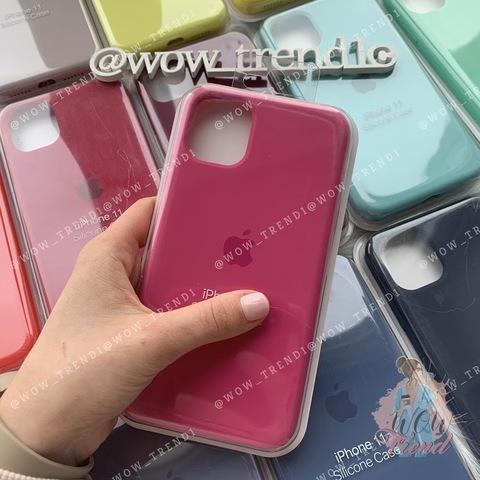 Чехол iPhone 11 Silicone Case Full /dragon fruit/