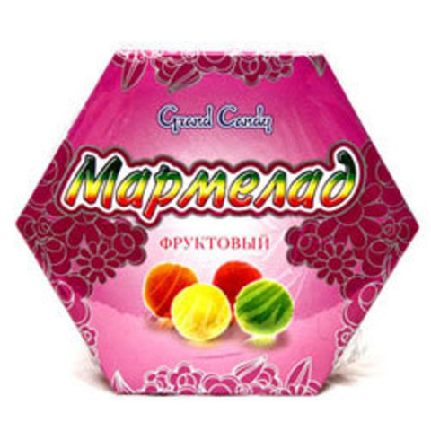 "Мармелад Фруктовый 300 гр ""Grаnd Candy"""