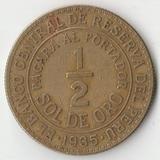 1935 SR1918 Перу 1/2 соль