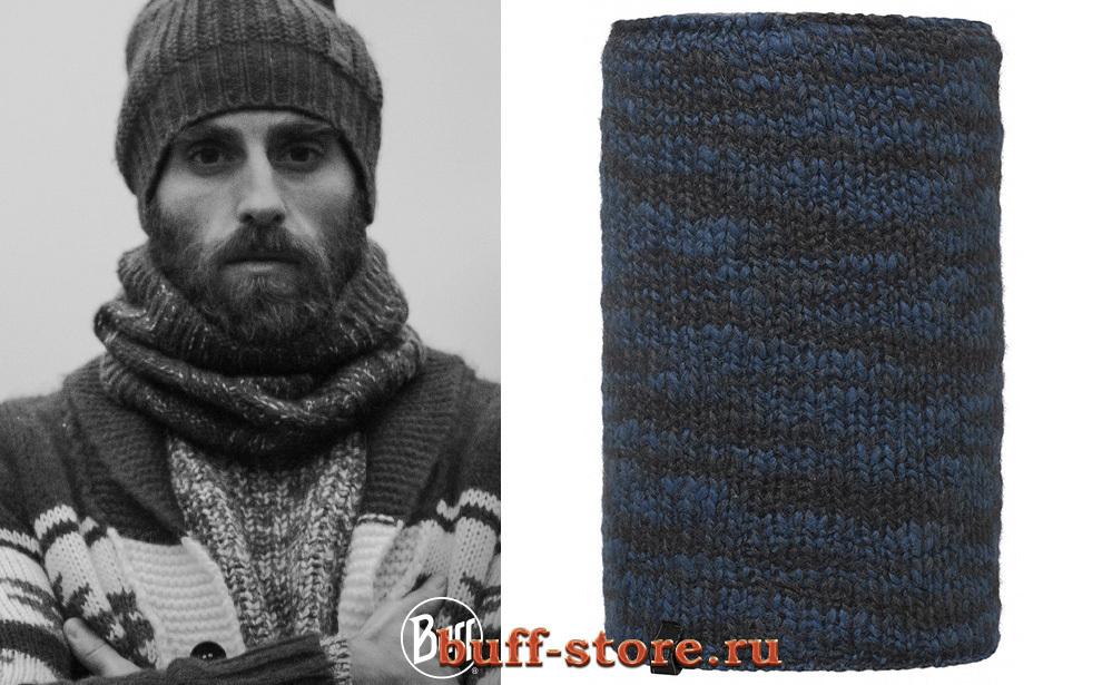 Модный шарф-труба Buff Studio Raw Moroccan Blue