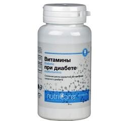 Витамины при диабете, капсулы, 60 шт