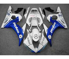 Комплект пластика для мотоцикла Yamaha YZF-R6 03-04 Jordan