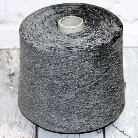 Вискозный велюр LUIGI BOLDRINI 1200 серый стальной